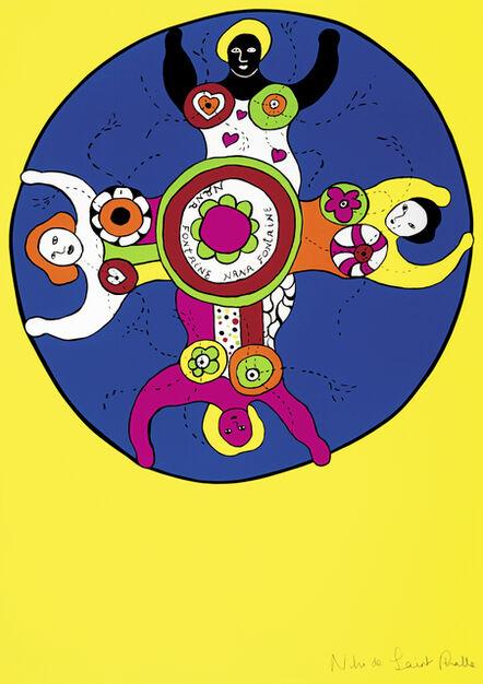 Niki de Saint Phalle, 'Nana Fontaine (yellow)', 1989-1990