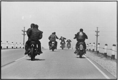 Danny Lyon, 'Route 12, Wisconsin, The Bikeriders Portfolio', 1963