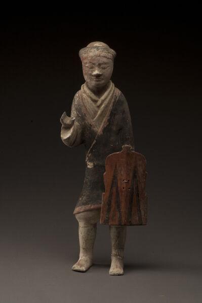 'Infantryman figurine', 206 BC -9 AD
