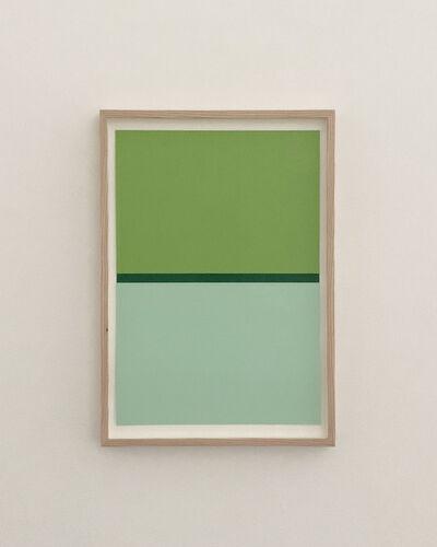 JES, 'LIGHT GREEN, DARK GREEN, GREEN', 2020