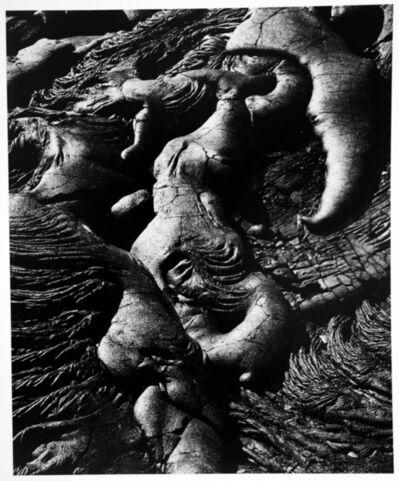 Brett Weston, 'Lava Flow, Hawaii', 1980