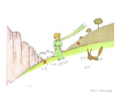 Antoine de Saint-Exupéry, 'Le Petit Prince et le Renard (lg)', 2008