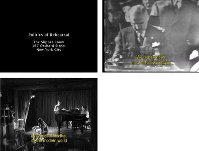 Francis Alÿs, 'Politics of Rehearsal', 2005-2007