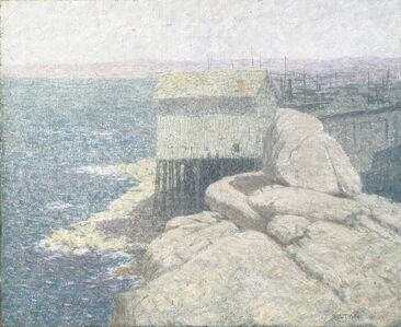 Bolton C. Brown, 'Chinese Fishing Village, Monterey Bay, California', 1890-1900