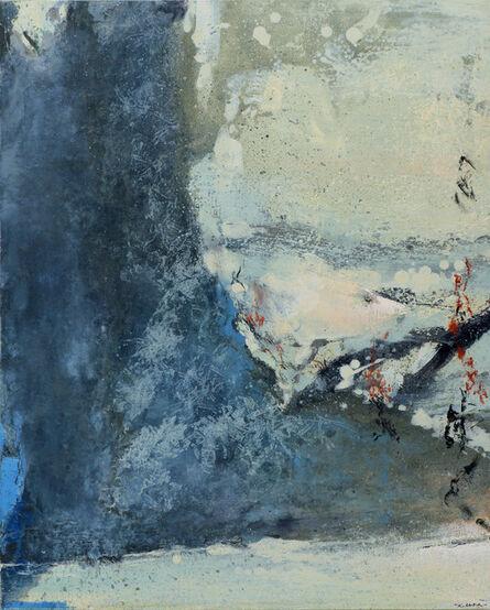 Zao Wou-Ki 趙無極, 'Blue Impression'