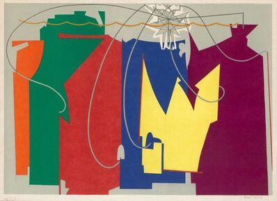 Man Ray, 'THE ROPE DANCER ACCOMPANIES HERSELF WITH HER SHADOWS (ANSELMINO 26)', 1970