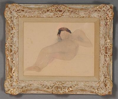 Auguste Rodin, 'Reclining Nude', 1896-1899