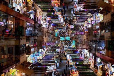 Michael David Kistler, ''Time travel is all that remains' Hong Kong', 2020