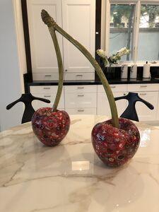 Dakota Pratt, 'Large Maraschino Cherries', 2019