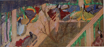 'Scene from The Tale of Genji', 12th century