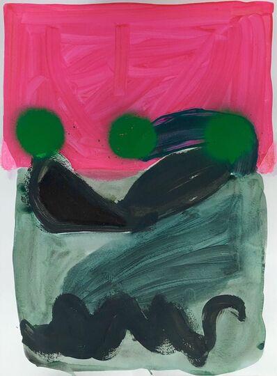 Sarah Boyts Yoder, 'Underwater in Fluorescent Skies', 2021