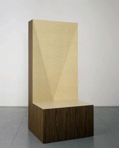 Richard Artschwager, 'Seat of Judgment', 2008