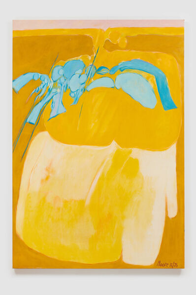 James Moore, 'Untitled I (Yellow)', 1976