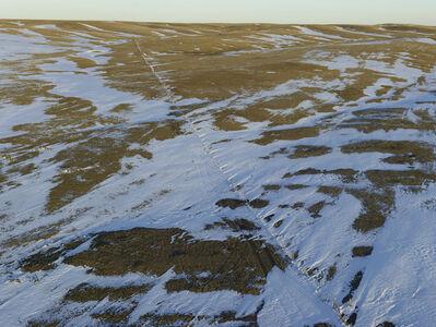 Andrew Moore, 'Fence Line Drift, Dawes County, Nebraska', 2013