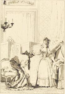 Jean-Louis Delignon and Antoine-Jean Duclos after Jean-Honoré Fragonard, 'Le cocu battu et content'