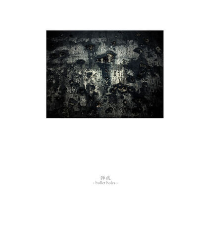 Osamu James Nakagawa, 'bullet holes', 2001-2009