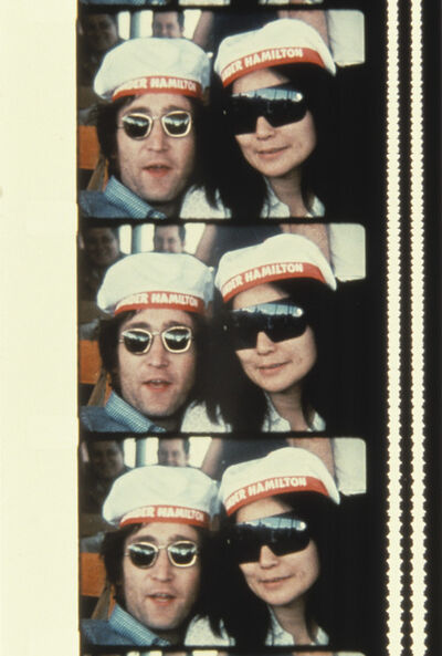 Jonas Mekas, 'John & Yoko on a cruise boat up the Hudson river July 7, 1971', 2013