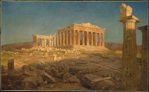 Frederic Edwin Church, 'The Parthenon', 1871