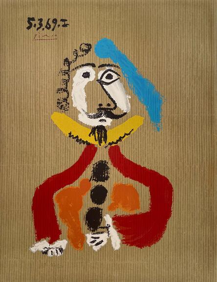 Pablo Picasso, ''Portrait Imaginaire 5.3.69 I'', 1970