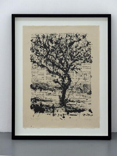 William Kentridge, 'Stone Tree II', 2013