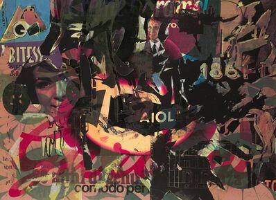 Mimmo Rotella, 'Senza titolo', 1991