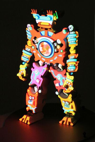 Peter Sarkisian, 'VideoMorphic Figure (Robot 5 v 3)', 2013