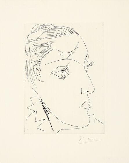 "Pablo Picasso, '""Portrait de Dora Maar au chignon. II""', Oktober 1936/1960/1961"