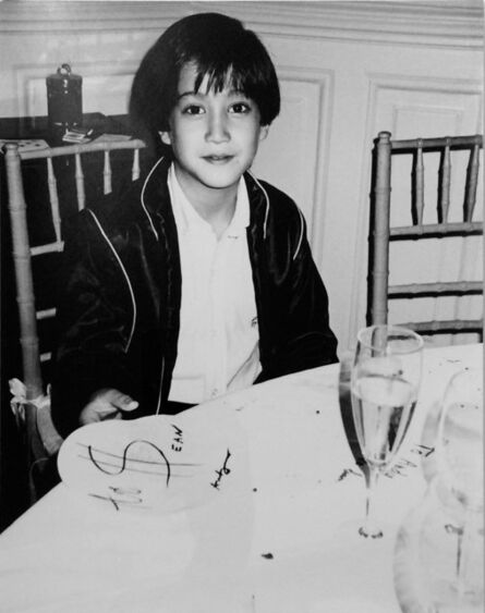 Andy Warhol, 'Andy Warhol, Photograph of Sean Lennon, 1984', 1984