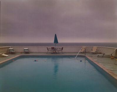 Joel Meyerowitz, 'Provincetown, Pool, Passing storm', 1976