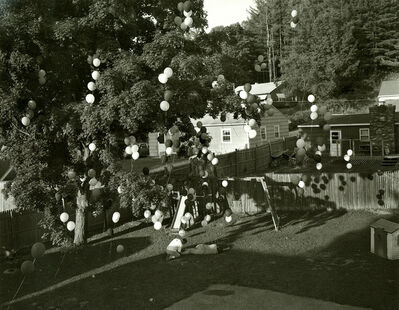 Gregory Crewdson, 'Untitled (balloons in backyard)', 1997