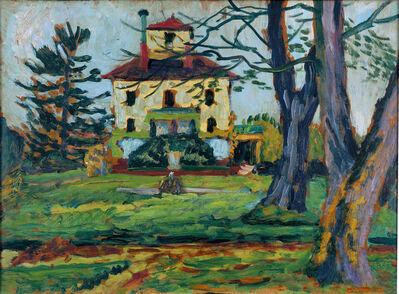 Gabriele Münter, 'Landhaus Mariahalde bei Rorschach', 1914