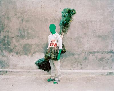 Vasantha Yogananthan, 'Peacock Man', 2014