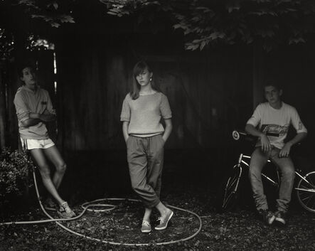 """Sally Mann, 'Untitled from the """"At Twelve"""" Series, Rebecca and the Hose', 1983-1985"""