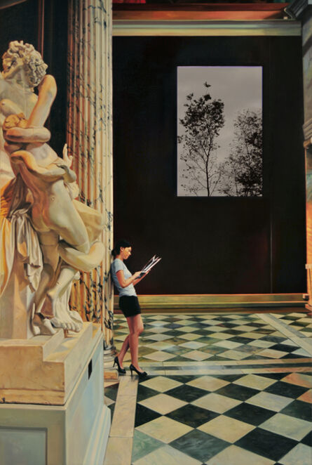 Bae Joon Sung, 'Tazan of Louvre museum', 2012