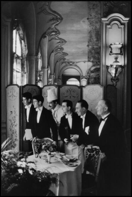 Elliott Erwitt, 'Waiters and chef, Hôtel Ritz. Paris, France. ', 1969