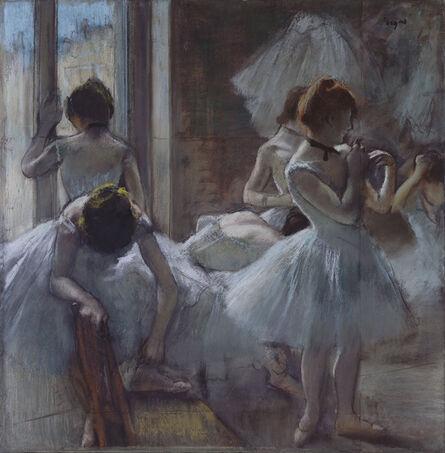 Edgar Degas, 'Danseuses en repos (Dancers at Rest)', 1884-1885