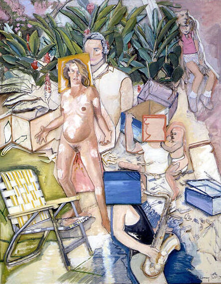 Larry Rivers, 'Fassbinder's Planned Parenthood', 1986