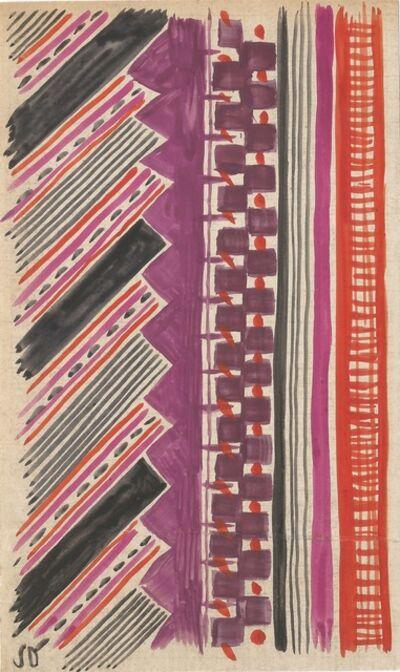 Sonia Delaunay, 'Untitled', Circa 1965