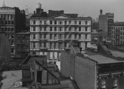 Bevan Davies, 'Bond Street, Facing North, New York', 1976