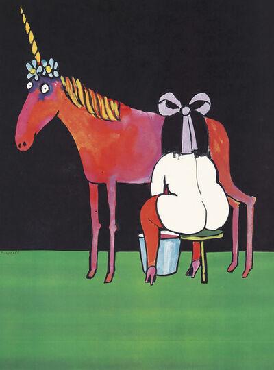 """Tomi Ungerer, 'Tomi Ungerer poster """"Stranger Than Fiction,"""" (Tomi Ungerer Truc 1968)', 1968"""