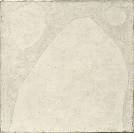 Hildegard Joos, 'Large Composition in White', 1962-1963