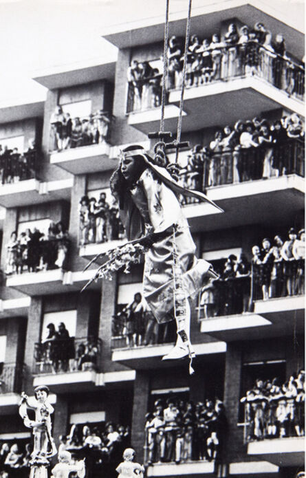 Mimmo Jodice, 'Il volo dell'angelo a Giugliano', 1972
