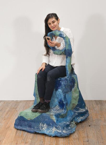 Jillian Mayer, 'Slumpie 3 – Q Chair', 2016