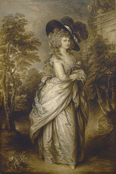 Gainsborough Dupont, 'Georgiana, Duchess of Devonshire', ca. 1787/1796