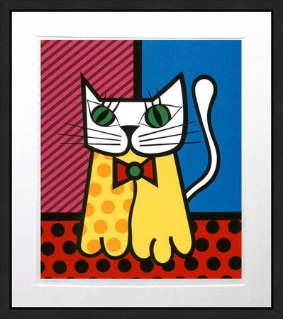 Romero Britto, 'THE CAT', UNKNOWN
