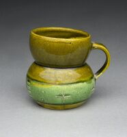 Ken Price, 'Untitled (Green Cup)', ca. 1977