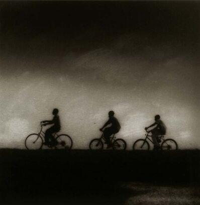 Jack Spencer, 'Bicyclers, Greenville, Mississippi', 1993