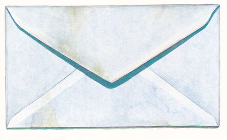 Margot Glass, 'Safety Envelope with Stain', 2016