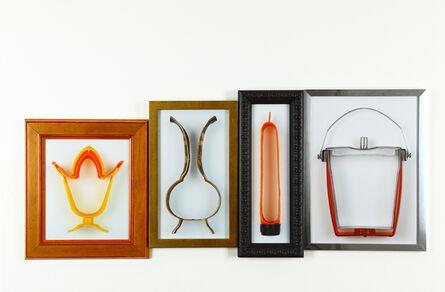 Isidora Correa, 'De la serie ABC: e, f, g, h (exprimidor, florero, guatero, hielera)', 2011