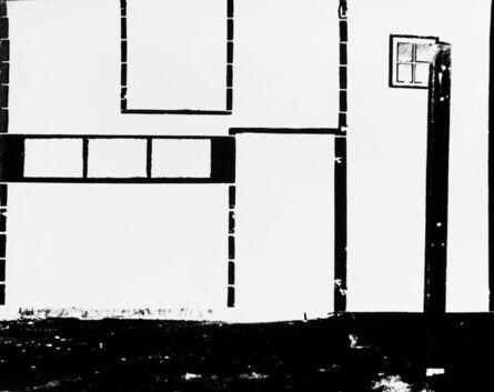 William Klein, 'Barn on Walcheren Island (where Mondrian lived)', 1949
